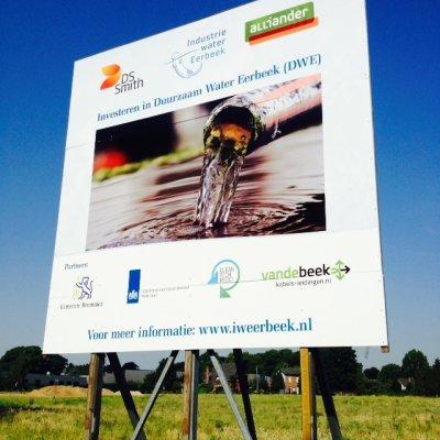 Aanleg industriewater & biogasleiding Eerbeek