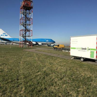 Aanleg glasvezel LVNL Rotterdam