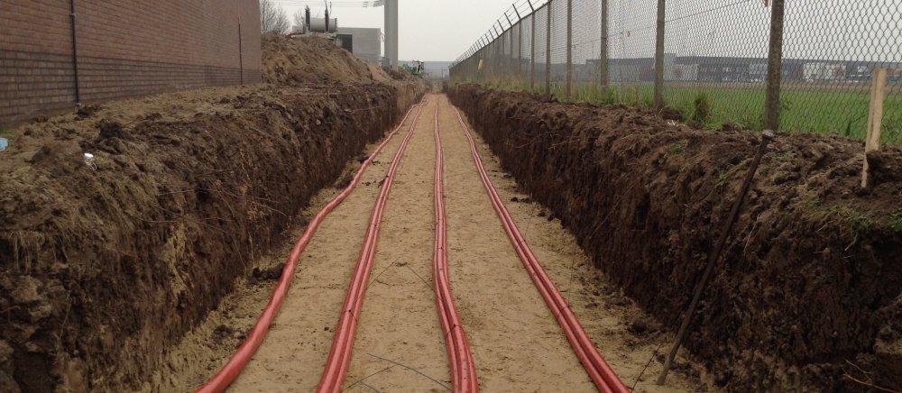 Aanleg 20KV kabels OS Zuilichem - Zaltbommel